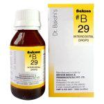 Dr.Bakshi B29 Intercostal Neuralgia Homeopathy drops for ribs pain
