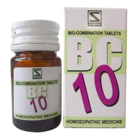 Schwabe Bioplasgen Biocombination No 10 Tablets for Enlarged Tonsils