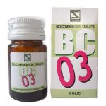 Schwabe Biocombination BC3 Tablets for Colic, Spasmodic pain