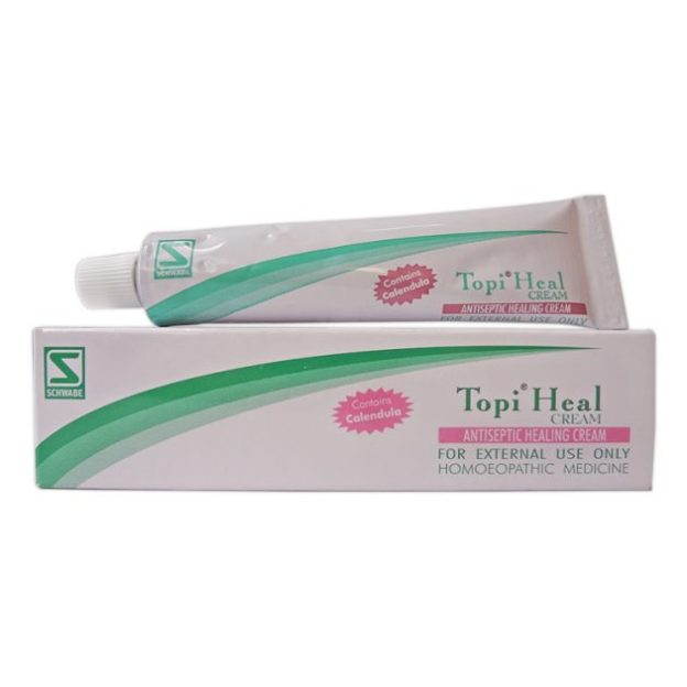 Schwabe Topi Heal, Antiseptic Healing Cream for Wounds, Cuts, Sores