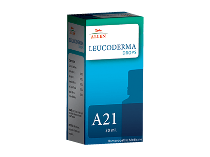 Allen A21 Homeopathy Drops for Leucoderma, Vitiligo