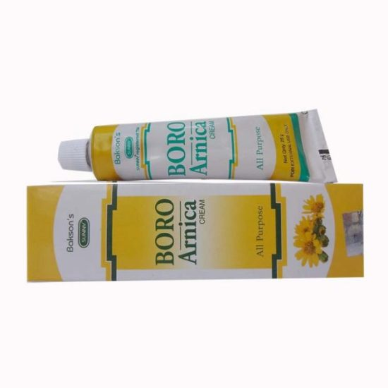 Baksons Sunny Boro Arnica all Purpose Cream for Cuts, Rashes, Sores