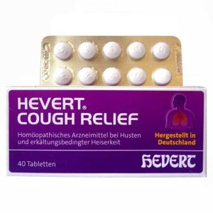 Hevert German Homeopathic medicine for cough relief