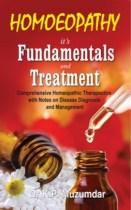 Homeopathy Book - Homeopathy It's Fundamentals And Treatment - Muzumdar, K P