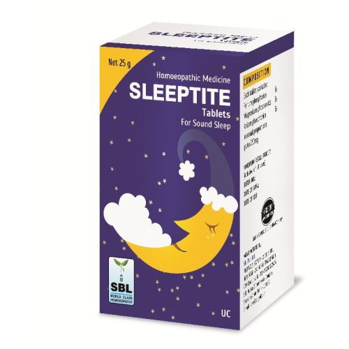 SBL Sleeptite Tablets for Insomnia. Buy Homeopathic sleep medicine online