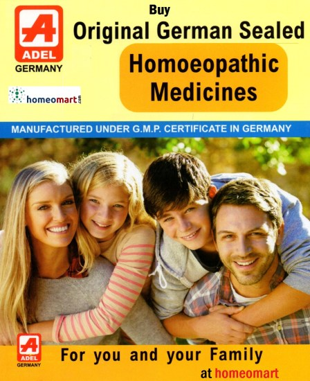 Adel Homeopathic medicines, Buy Adel 1 to 87 series of homeopathy medicines online. Original German Sealed Homeopathy remedies.