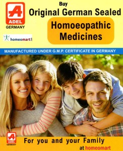 Adel Homeopathic medicines, Buy Adel 1 to 87 series of homeopathy medicines online. Original German Sealed Homeopathy