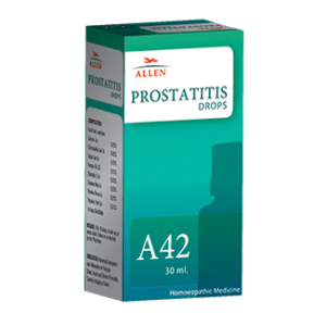 Allen A42 Homeopathy Prostatitis Drops for Acute and Chronic Prostatitis