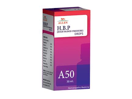 Allen A50 Homeopathy Drops for High BP (Blood Pressure medicine)