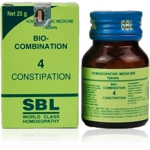 SBL Biocombination 4 (BC4) Tablets for Constipation