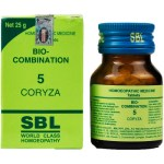 SBL Biocombination 5 (BC5) Tablets for Coryza (Nasal Discharge)