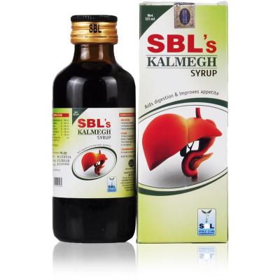SBL Kalmegh Syrup Aids Digestion and Improves Appetite, liver tonic, sluggish fatty liver remedy