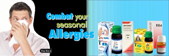 Allergy medicines in Homeopathy, Skin Allergies, Respiratory allergies, Food Allergies
