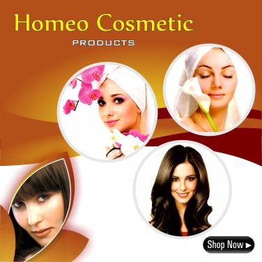 Homeopathy Cosmetic Creams, Lotions, Gels, for Skin, Hair care