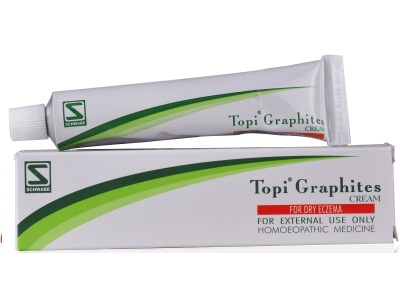 Schwabe Topi Graphites Cream for Dry Eczema, fungal infections of nails