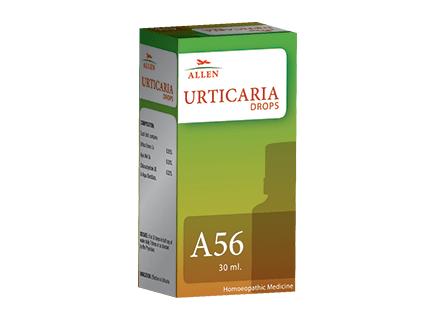 Allen A56 Urticaria Drops, Homeopathy medicine