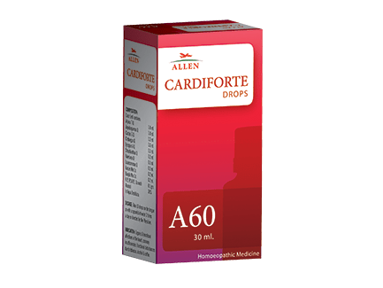 Allen A60 Cardiforte Drops, Homeopathy medicine for heart