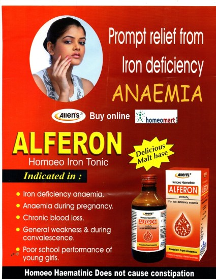Homeo iron tonic