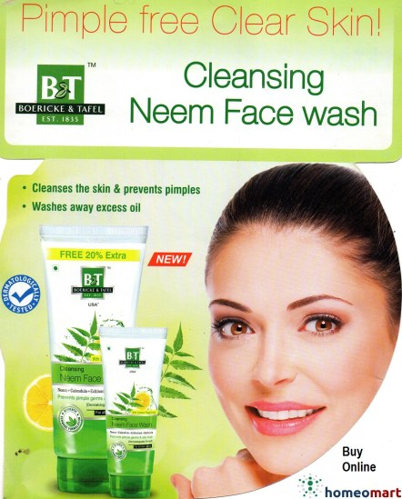 Best Neem Face Wash Homeopathic