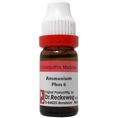 Dr Reckeweg Ammonium Phosphoricum 6C, 30C, 200C, 1M. 11ml