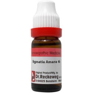 Dr Reckeweg Dilution Ignatia Amara 6C, 30C, 200C, 1M, 10M, 50M, CM. 11ml