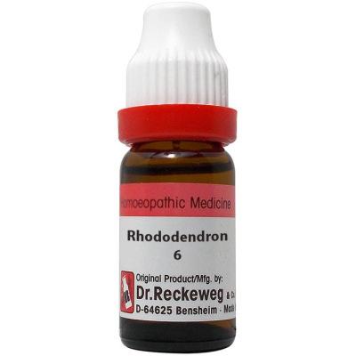 Dr Reckeweg Rhododendron 6C, 30C, 200C, 1M, 10M, 50M, CM. 11ml