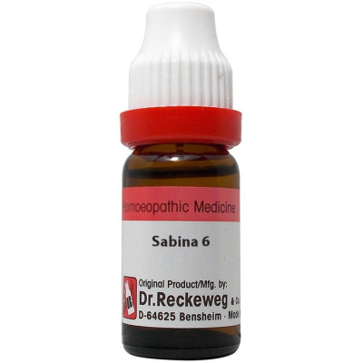 Dr Reckeweg Dilution Sabina 6C, 30C, 200C, 1M, 10M, 50M, CM. 11ml