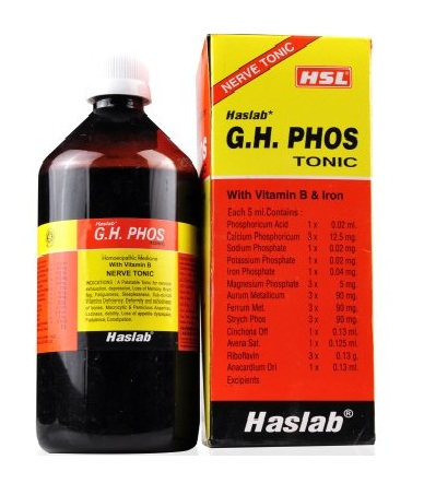 Haslab G.H. Phos Tonic (with Vitamin B) Nerve Tonic