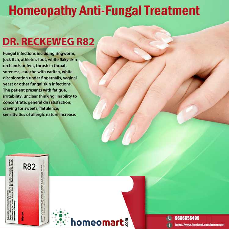 Homeopathy Medicine list for fungal infections, Buy online get upto ...