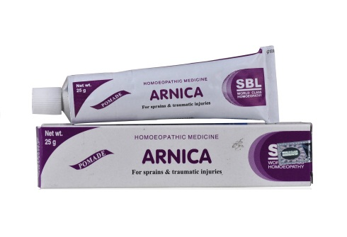 SBL Arnica Ointment for Sprains, Muscular Pains, other traumatic injuries