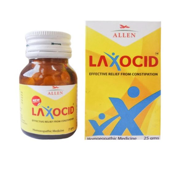 Allen Laxocid Tablets - Effective Relief from Constipation