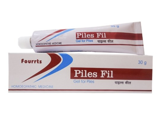 Fourrts Piles Fil Homeopathic Gel for Piles, 30gms
