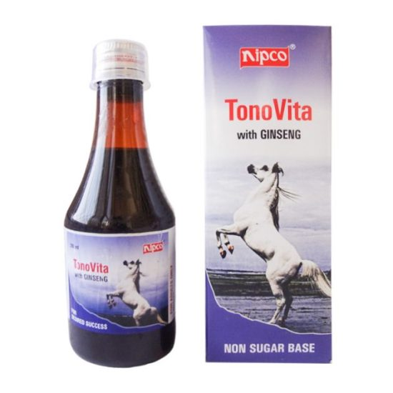 Nipco Tonovita (with Ginseng) Tonic for Men - Non Sugar Base