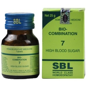 SBL Biocombination 7 (BC7) Tablets for High Blood Sugar