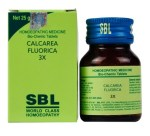 SBL Biochemic Tablet Calcarea Fluorica for Varicose Veins, Piles treatment