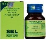 SBL Biochemics Tablets Natrum Phosphoricum for sour erucations and vomiting