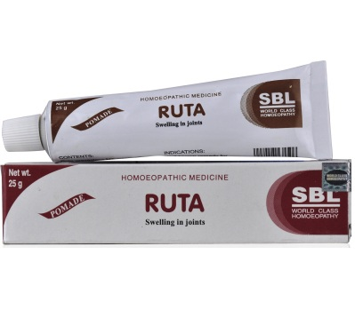 SBL Ruta Anti Inflammatory Ointment for Swelling in Joints, rheumatism,stiffness of tendons and joints