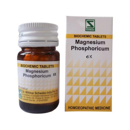 Schwabe Biochemics Tablets Magnesium Phosphoricum 3x, 6x, 12x, 30x, 200x