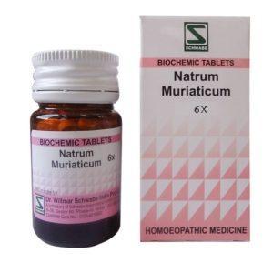 Schwabe Biochemics Tablets Natrum Muriatica 3x, 6x, 12x, 30x, 200x
