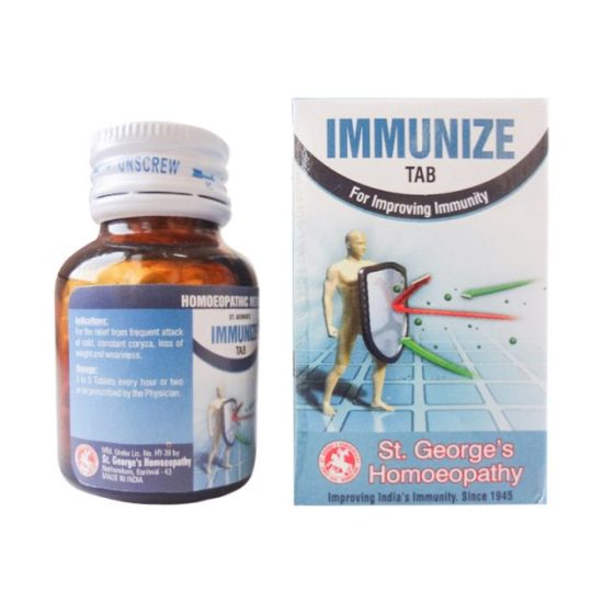 St George Immunize Tab for Immunity