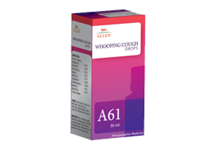 Allen A61 Whooping Cough Drops, 30ml