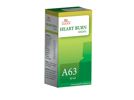 Allen A63 Heart Burn Drops, 30ml