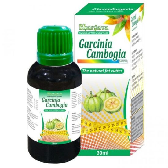 Bhargava Garcinia Cambogia drops, natural Fat cutter for weight loss, obesity medicine in homeopathy