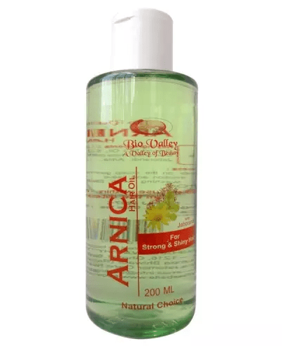 Bio Valley Arnica Hair Oil for Strong and Shiny Hair, 200ml