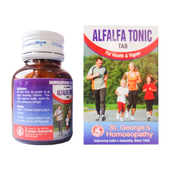 St George Alfalfa Tonic Tab for Health and Vigour, 30gm
