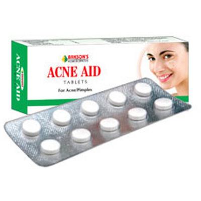 Bakson Acne Aid Tablet for Acne, Pimples