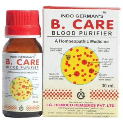 Indo German B Care Drops - Blood Purifier, 30ml
