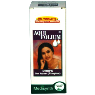 Medisynth Aquifolium Drops - Treats Acne and Blackheads