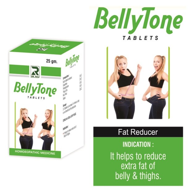 Bellytone Homeopathy for belly fat loss, reduce excess abdominal fat, Stomach flab reduction