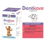 Dr.Raj Denticare Tablets 25gms, homeopathy teething baby remedy